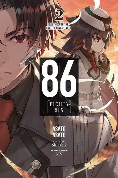 86 Eighty-Six Novel Volume 2