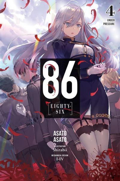 86 Eighty-Six Novel Volume 4