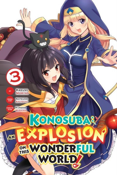 Konosuba An Explosion on This Wonderful World Manga Volume 3