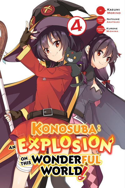 Konosuba An Explosion on This Wonderful World Manga Volume 4