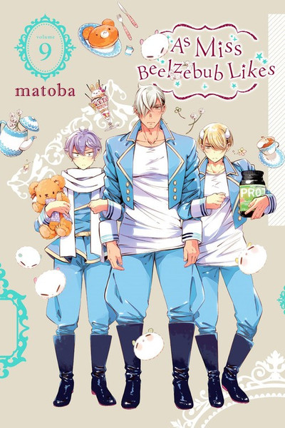 As Miss Beelzebub Likes Manga Volume 9