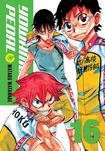 Yowamushi Pedal Manga Volume 16