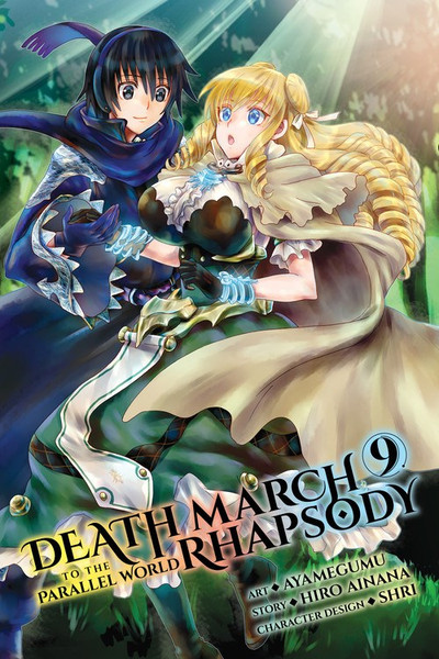 Death March to the Parallel World Rhapsody Manga Volume 9