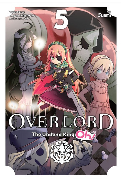 Overlord The Undead King Oh! Manga Volume 5