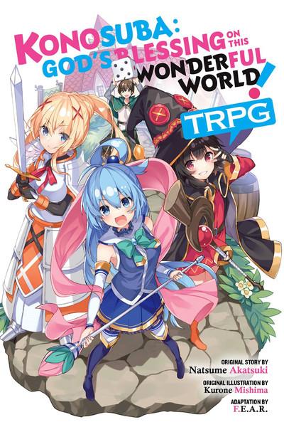 Konosuba Gods Blessing on This Wonderful World TRPG