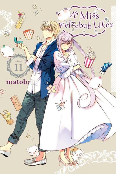 As Miss Beelzebub Likes Manga Volume 11