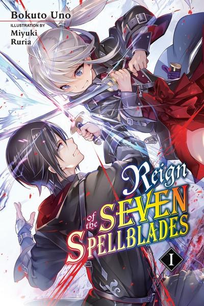 Reign Of The Seven Spellblades Novel Volume 1
