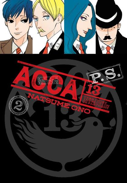 ACCA 13 Territory Inspection Department P.S. Manga Volume 2