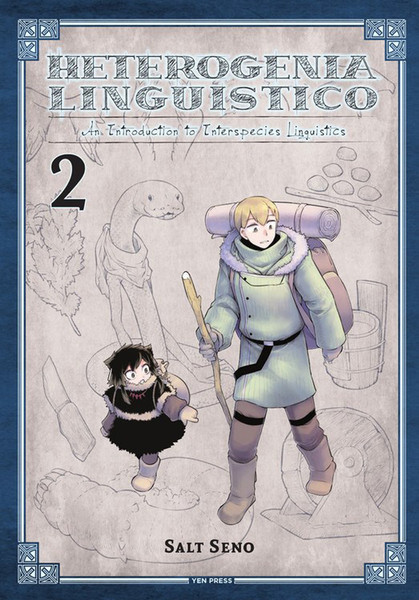 Heterogenia Linguistico Manga Volume 2