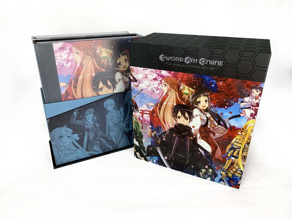 Sword Art Online Platinum Collector's Edition Novel Box Set