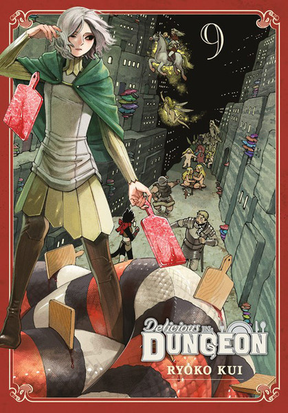 Delicious in Dungeon Manga Volume 9