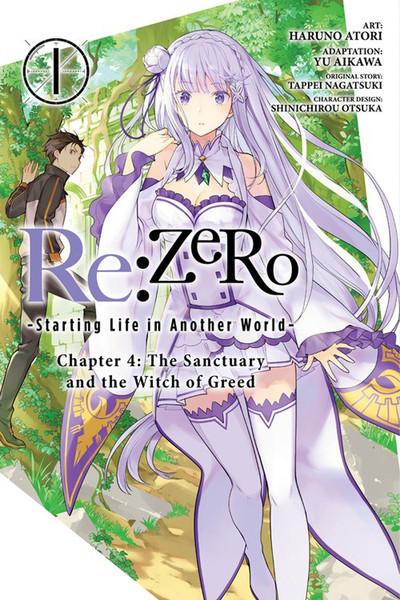 ReZERO Starting Life in Another World Manga Chapter 4 Volume 1