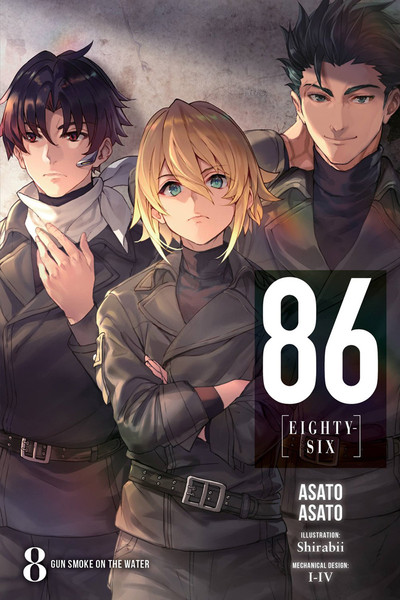 86 Eighty-Six Novel Volume 8