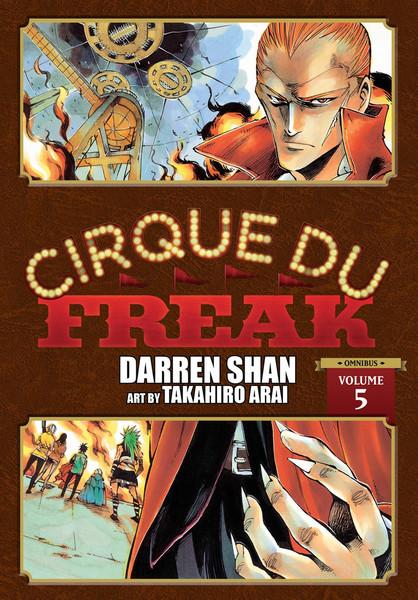 Cirque Du Freak Manga Omnibus Volume 5