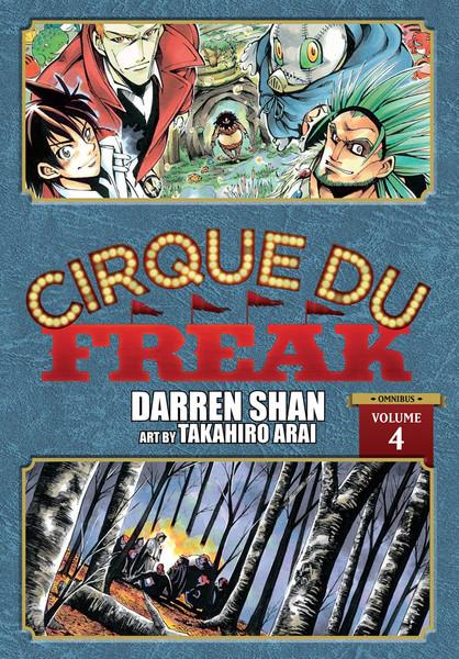 Cirque Du Freak Manga Omnibus Volume 4