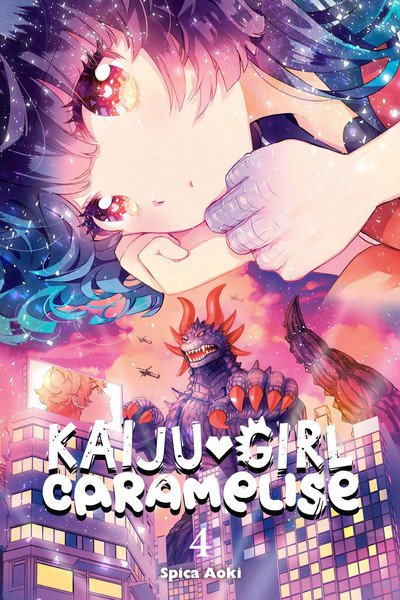 Kaiju Girl Caramelise Manga Volume 4