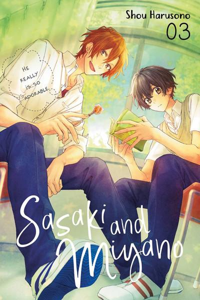 Sasaki and Miyano Manga Volume 3