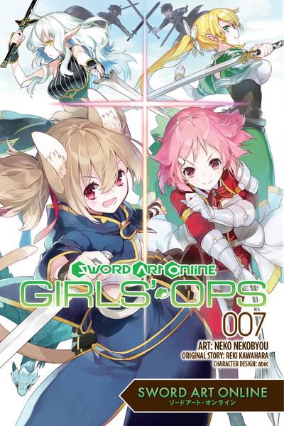 Sword Art Online Girls' Ops Manga Volume 7