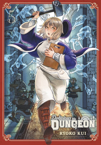Delicious in Dungeon Manga Volume 5