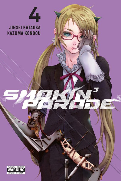 Smokin' Parade Manga Volume 4