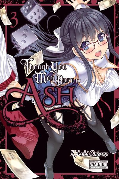 Though You May Burn to Ash Manga Volume 3