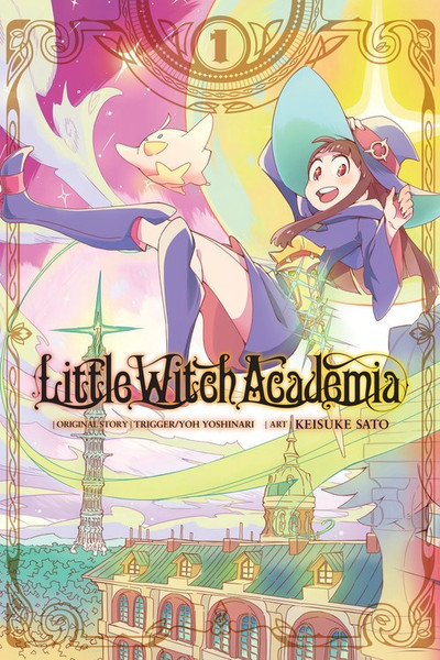 Little Witch Academia Manga Volume 1