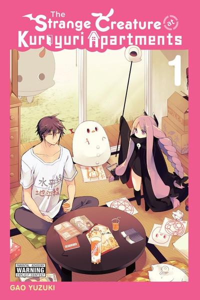 The Strange Creature at Kuroyuri Apartments Manga Volume 1