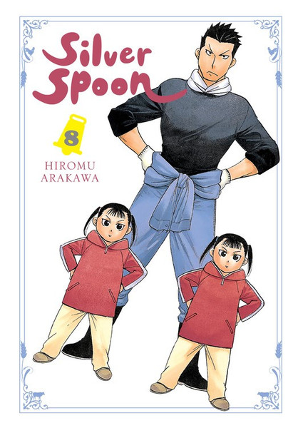 Silver Spoon Manga Volume 8