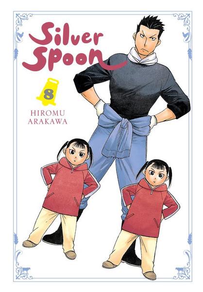 Silver Spoon Manga Volume 8