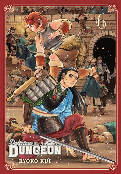 Delicious in Dungeon Manga Volume 6
