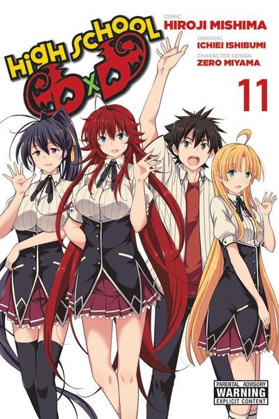 High School DxD Manga Volume 11