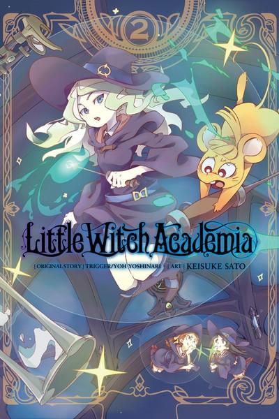 Little Witch Academia Manga Volume 2