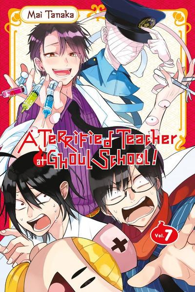 A Terrified Teacher at Ghoul School Manga Volume 7