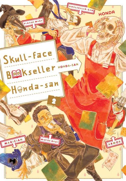 Skull-face Bookseller Honda-san Manga Volume 2