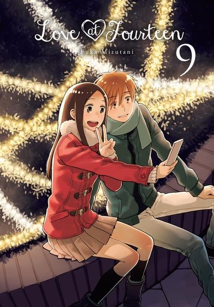Love at Fourteen Manga Volume 9