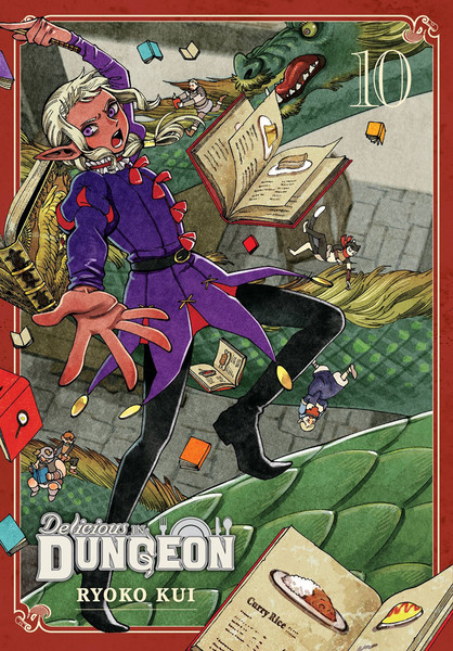 Delicious in Dungeon Manga Volume 10