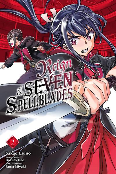 Reign of the Seven Spellblades Manga Volume 2