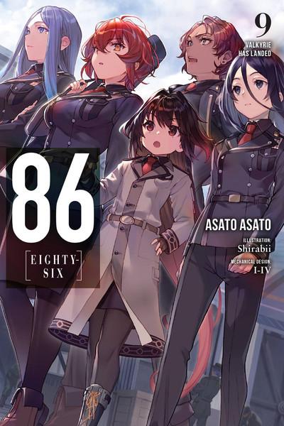 86 Eighty-Six Novel Volume 9