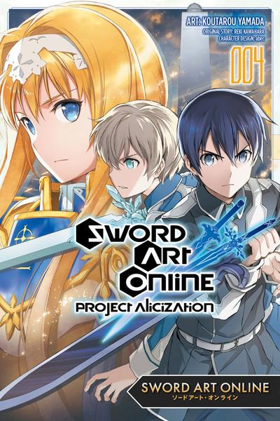 Sword Art Online Project Alicization Manga Volume 4