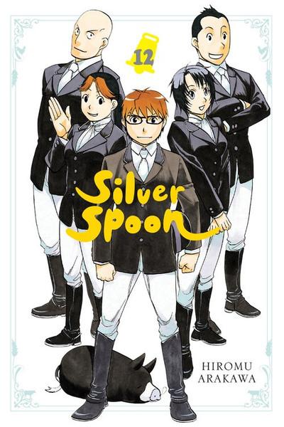 Silver Spoon Manga Volume 12