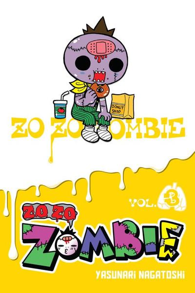 Zo Zo Zombie Manga Volume 3