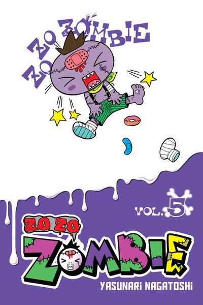 Zo Zo Zombie Manga Volume 5