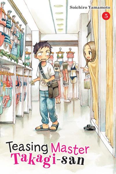 Teasing Master Takagi-san Manga Volume 5