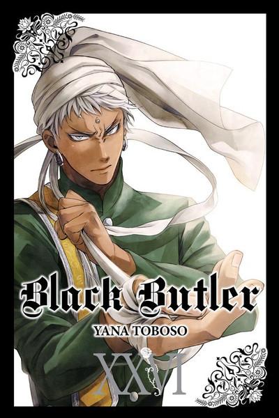 Black Butler Manga Volume 26