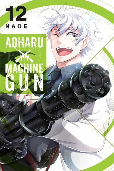 Aoharu X Machinegun Manga Volume 12