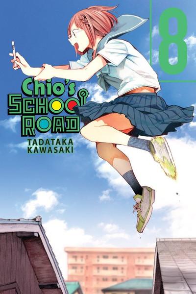 Chio's School Road Manga Volume 8