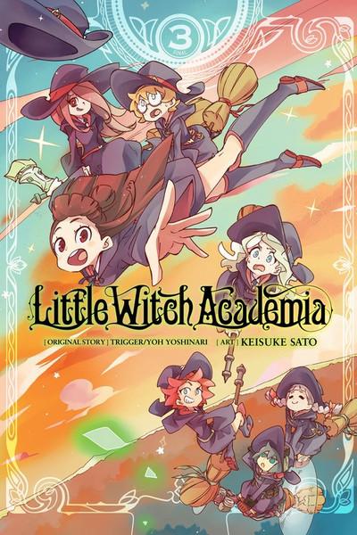 Little Witch Academia Manga Volume 3