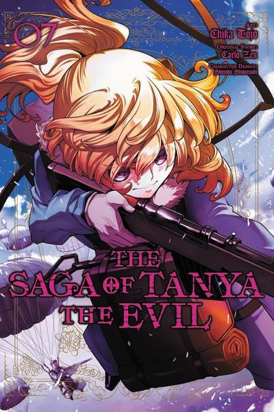 The Saga of Tanya the Evil Manga Volume 7