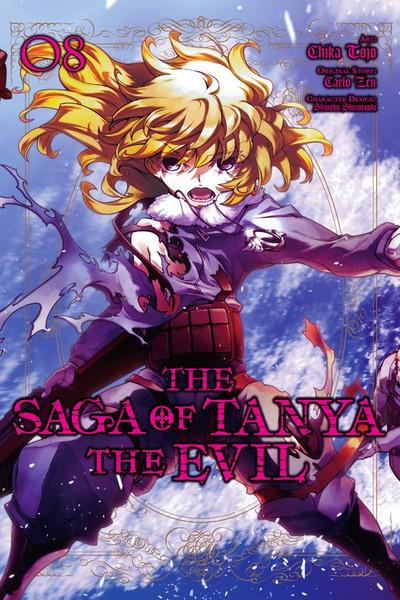 The Saga of Tanya the Evil Manga Volume 8