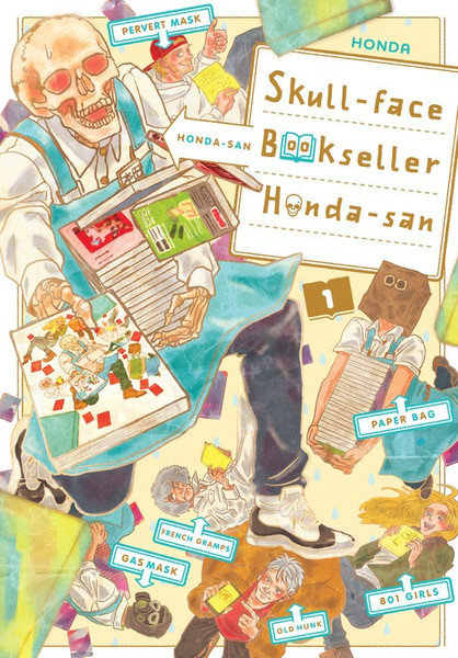 Skull-face Bookseller Honda-san Manga Volume 1